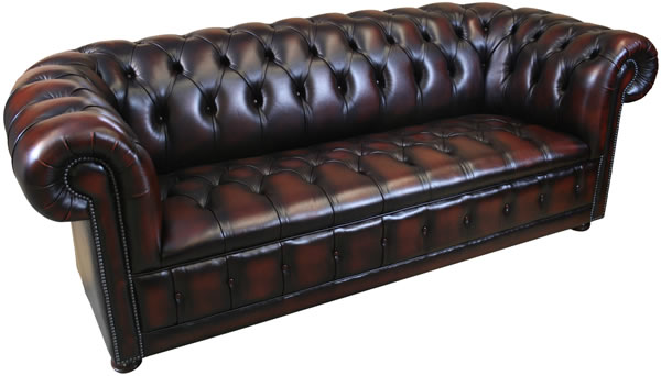 3 Seat Chesterfield Sofa Button Seat