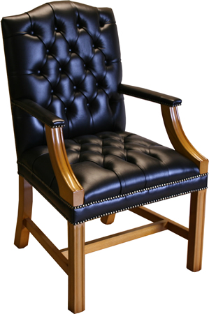 reproduction gainsborough chair on legs