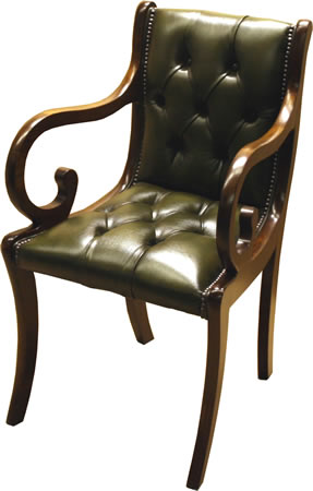reproduction full saddle enfield chair