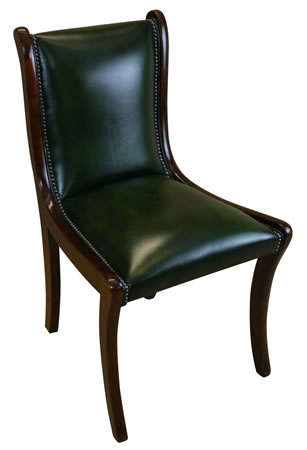 reproduction enfield plain upholstered chair