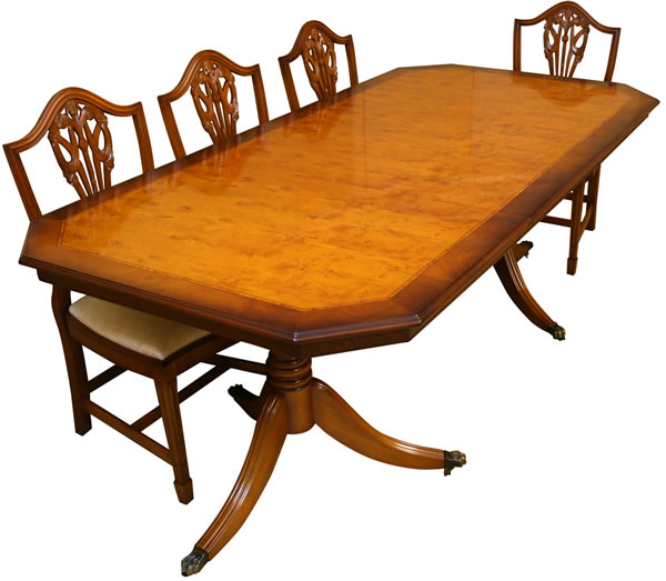 Inadam Collection Dining Table Yew