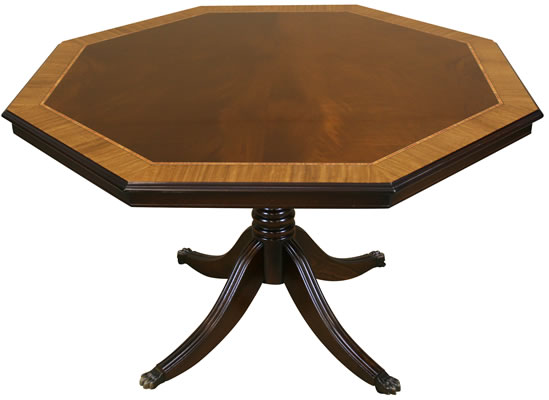 Inadam Collection Octagonal Breakfast Card Table