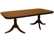reproduction bow and d end dining tables