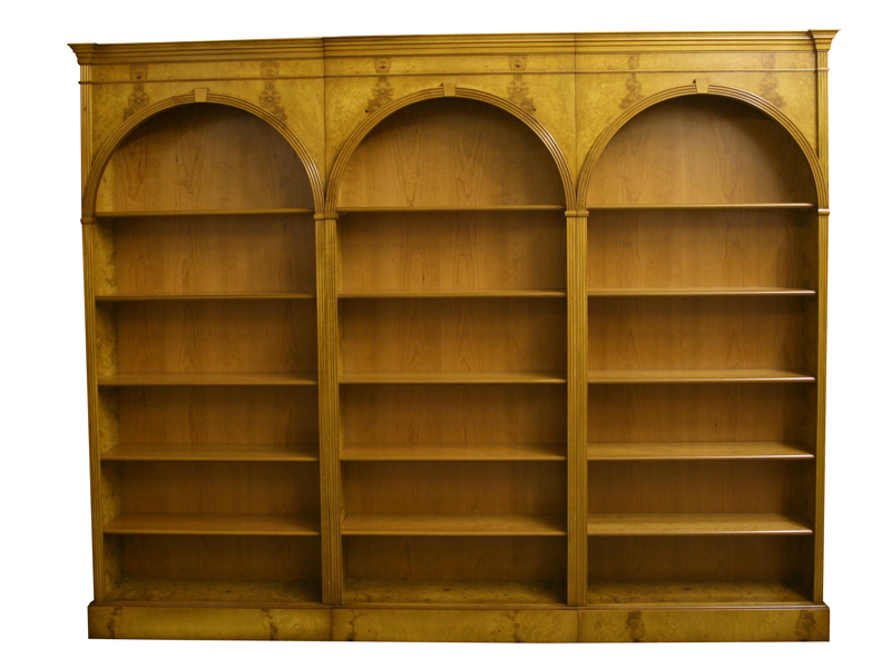 Arch Modular Bookcases in Myrtle
