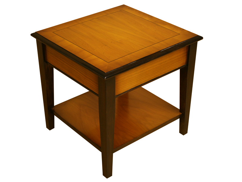 Chippendale Table with Yew and Mahogany finish