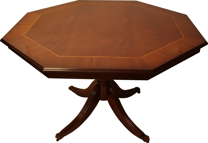 Octagonal Breakfast Table Mahogany