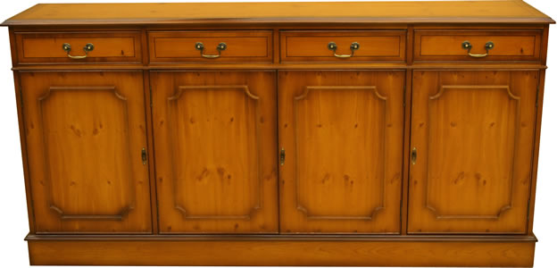 4 door regency reproduction sideboard