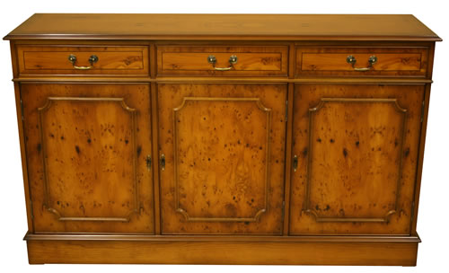 reproduction regency sideboard