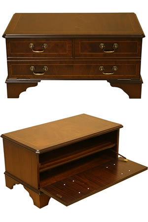 reproduction chest front tv cabinet